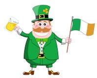 St. Patrick de kabouter van de Dag Stock Afbeeldingen