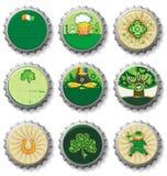 St. Patrick de kroonkurken van de Dag Stock Fotografie