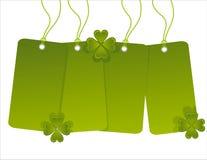 St. Patrick de markeringen van de dagverkoop Royalty-vrije Stock Foto's