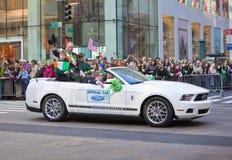 St. Patrick de Parade van de Dag Stock Afbeeldingen