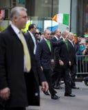 St. Patrick de Parade van de Dag Stock Afbeelding