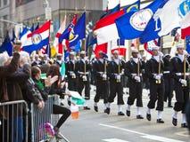 St. Patrick de Parade van de Dag Royalty-vrije Stock Foto's