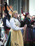 St. Patrick de Parade van de Dag Stock Fotografie