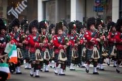 St. Patrick de Parade van de Dag Royalty-vrije Stock Afbeelding