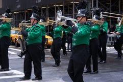 St Patrick de Parade van de Dag, Manhattan, New York royalty-vrije stock foto
