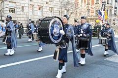 St. Patrick de Parade van de Dag in NYC Stock Foto