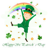 St. patrick design Stock Images