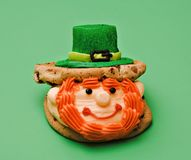 St. Patrick Dessert Stock Image