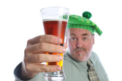 St Patrick dirnk Stock Photography