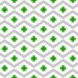 St Patrick dnia bezszwowy wzór ilustracji