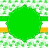 St. Patrick dnia karta Obrazy Royalty Free