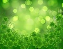 St. Patrick dnia karta Zdjęcia Stock
