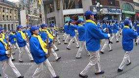 St Patrick dnia parada w Toronto zbiory wideo