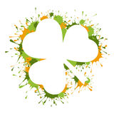 St Patrick dnia rama Obrazy Royalty Free