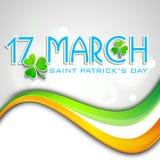 St. Patrick dnia tło Zdjęcie Stock