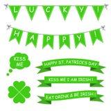 St Patrick dnia wektoru set Obraz Royalty Free