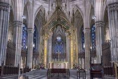St Patrick domkyrka arkivfoto