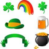 St. Patrick dzień ikony ilustracja wektor