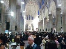 St Patrick et x27 ; cathédrale de s images libres de droits