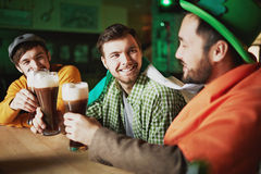 St. Patrick fans Royalty Free Stock Photos
