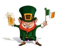 St. Patrick - Flag Royalty Free Stock Photo