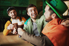 St. Patrick gathering Royalty Free Stock Images