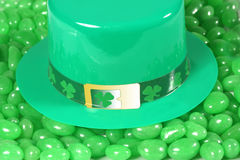 St Patrick hat. Royalty Free Stock Photos