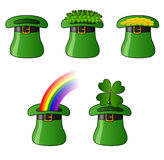 St. Patrick Hats Fotos de Stock