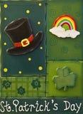 St. Patrick het Decor van de Dag stock afbeelding
