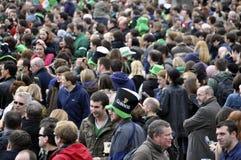 St Patrick het Festival van de Dag in Londen Stock Afbeeldingen