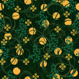 St. Patrick het naadloze patroon van de Dag Royalty-vrije Stock Afbeelding