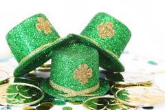 St. Patrick het Trio van de Hoed van de Dag Royalty-vrije Stock Foto's