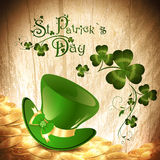 St.Patrick holiday background Royalty Free Stock Image
