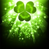 St.Patrick holiday bright background Stock Photos