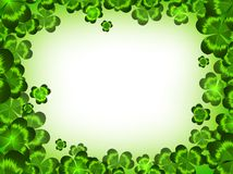 St.Patrick holiday frame Royalty Free Stock Image
