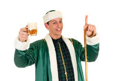 St Patrick holiday man Stock Images