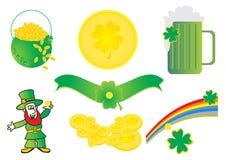 St. Patrick illustrations Royalty Free Stock Photography