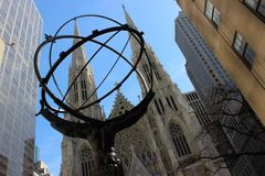 St Patrick katedra, Miasto Nowy Jork Zdjęcie Royalty Free