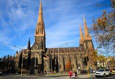 St Patrick katedralny kościelny minaret zdjęcie royalty free