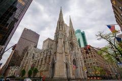 St Patrick Kathedraal in de Stad van New York, New York royalty-vrije stock fotografie