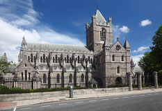 St. Patrick Kathedraal in Dublin, Ierland Royalty-vrije Stock Afbeeldingen