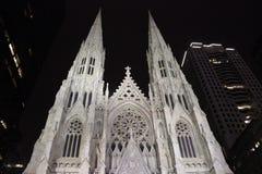 St Patrick Kathedrale, New York City Lizenzfreies Stockbild