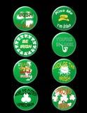 St Patrick kenteken vector illustratie