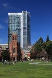 St.Patrick Kerk, San Francisco Stock Afbeeldingen
