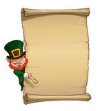 St Patrick Papyrus Stock Photography