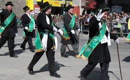 St-Patrick parade Stock Photo