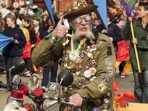 St Patrick Parade royalty-vrije stock afbeelding