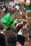 St.Patrick parade Stock Image
