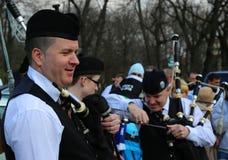 St Patrick parade Royalty-vrije Stock Foto