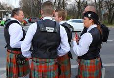 St Patrick parade Royalty-vrije Stock Foto's